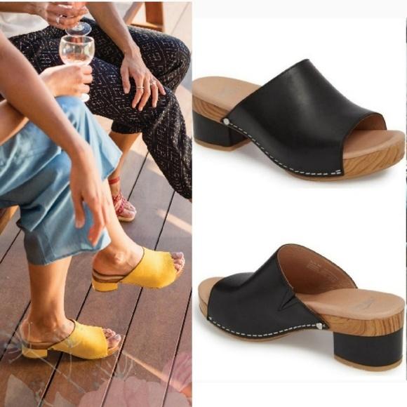 98ce37f5ba6 Dansko Shoes - DANSKO Maci Leather Slide Mule Size 39